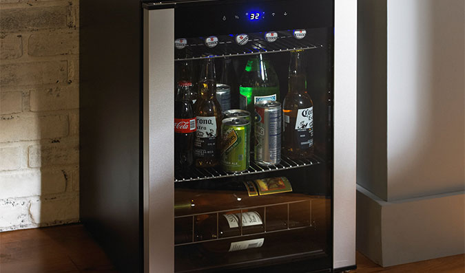 Best Mini Beer Fridge With Glass Door (2018)