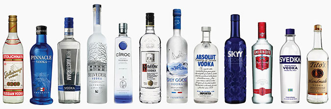 vodka brands