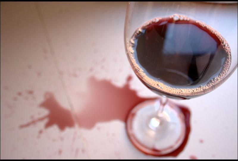 How To Get Rid Of Wine Stains In The Carpet?
